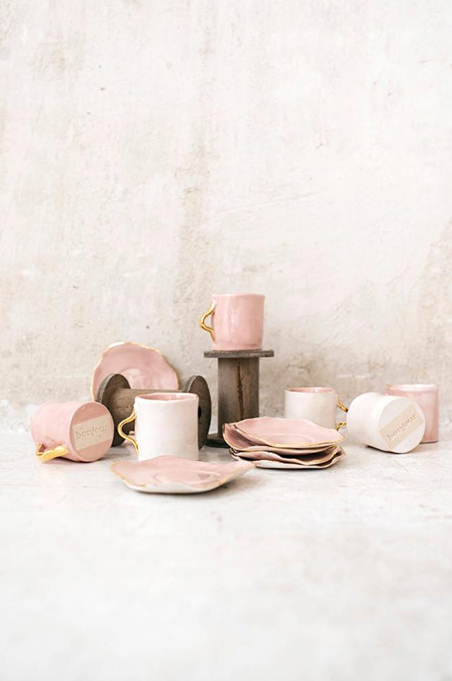 Resultado de imagen de rosa pastel objetos